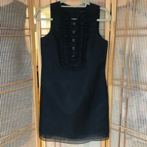 Robert Rodriguez Shift Dress with Bibb